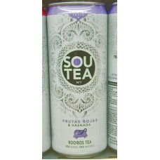 Firgas - Sou Tea No7 Frutas Rojas & Granada Rooibos Tea Dose 330ml hergestellt auf Gran Canaria
