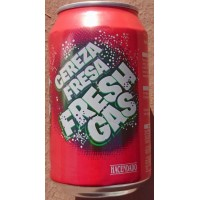 Fresh Gas - Cereza Fresa Lemonada Kirsch-Erdbeer-Limonade 330ml Dose hergestellt auf Gran Canaria