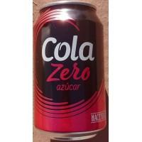 Hacendado - Cola Zero 330ml Dose hergestellt auf Gran Canaria
