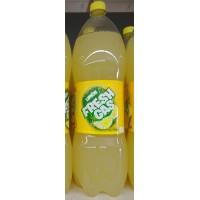 Fresh Gas - Limon Lemonada Zitronen-Llimonade 2l PET-Flasche hergestellt auf Gran Canaria