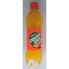 Fresh Gas - Naranja Lemonada Orangen-Limonade 500ml PET-Flasche hergestellt auf Gran Canaria