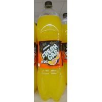 Fresh Gas - Naranja Zero Lemonada Orangen-Limonade zuckerfrei 2l PET-Flasche hergestellt auf Gran Canaria