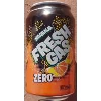 Fresh Gas - Naranja Zero Lemonada Orangen-Limonade zuckerfrei 330ml Dose hergestellt auf Gran Canaria