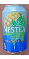 Nestea Mango y Pina - exclusivo Canario Eistee Mango-Ananas Dose 330ml hergestellt auf Teneriffa - LAGERWARE