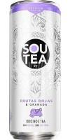 Firgas - Sou Tea No7 Frutas Rojas & Granada Rooibos Tea 6x 330ml Dose hergestellt auf Gran Canaria - LAGERWARE