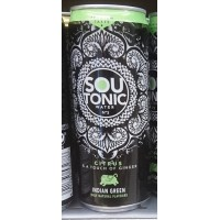 Firgas - Sou Tonic Water No3 Citrus & a touch of ginger Indian Green Dose 330ml hergestellt auf Gran Canaria