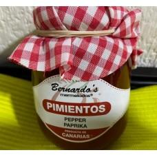 Bernardo's Mermeladas - Crema de Pimiento Paprika-Creme Aufstrich Marmelade 240g hergestellt auf Lanzarote - LAGERWARE