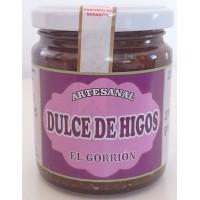 El Gorrion - Dulce de Higos Artesanal süßes Kaktusfeigengelee Marmelade 270g Glas hergestellt auf Teneriffa