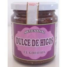 El Gorrion - Dulce de Higos Artesanal süßes Kaktusfeigengelee Marmelade 270g Glas hergestellt auf Teneriffa - LAGERWARE