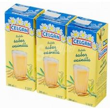 Celgan - Leche Batido Sabor Vainilla Vanillemilch 30x 200ml Tetrapack hergestellt auf Teneriffa