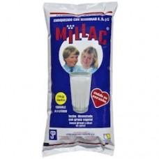 Millac - Leche desnatada con grasa vegetal en polvo Milchpulver für 8 Liter Milch 1kg hergestellt auf Gran Canaria