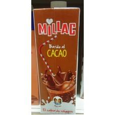 Millac - Leche Batida al Cacao Schokomilch 1l Tetrapack hergestellt auf Gran Canaria