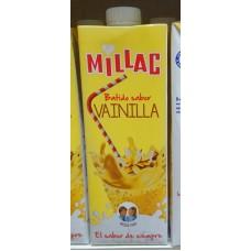 Millac - Leche Batida al Vanilla Vanillemilch 1l Tetrapack hergestellt auf Gran Canaria