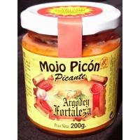 Argodey Fortaleza - Mojo Picòn Picante kanarische Mojo-Sauce würzig 200g hergestellt auf Teneriffa - LAGERWARE - MHD: 31.06.2020