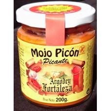 Argodey Fortaleza - Mojo Picòn Picante kanarische Mojo-Sauce würzig 200g hergestellt auf Teneriffa - LAGERWARE