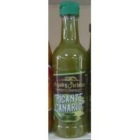 Argodey Fortaleza - Salsa Picante Canario Verde 200ml Flasche hergestellt auf Teneriffa
