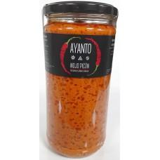 Ayanto - Mojo Rojo Picon Salsa Formato Gastro 720ml Glas hergestellt auf La Palma - LAGERWARE