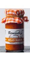 Bernardo's Mermeladas - Mojo Canario Suave rote milde Mojosauce 90ml hergestellt auf Lanzarote