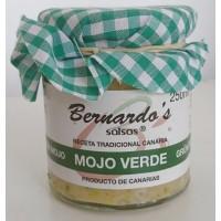 Bernardo's Mermeladas - Mojo Canario Verde grüne milde Mojosauce 250ml hergestellt auf Lanzarote