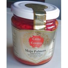 Conde Canseco - Mojo Palmero Picante kanarisches Mojo scharf 230g hergestellt auf La Palma - LAGERWARE