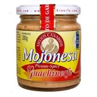 Guachinerfe - Mojos Canarios Mojonesa picant-spicy Majonese mit Mojo würzig 200g hergestellt auf Teneriffa - LAGERWARE - MHD: 21.09.18