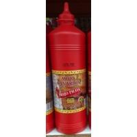 Mojo Canarion - Mojo Picon scharfe rote Mojosauce 970g/1l Plasteflasche hergestellt auf Gran Canaria