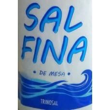 Trinosal - Sal Fina de Mesa Salz 300g Flasche hergestellt auf Teneriffa