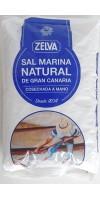 Zelva - Sal Marina Natural de Gran Canaria Meersalz 750g Tüte hergestellt auf Gran Canaria - LAGERWARE