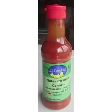 El Cardon - Salsa Picante Canaria scharfe kanarische Würzsauce 100ml Flasche hergestellt auf Gran Canaria - LAGERWARE