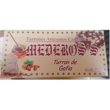 Mederos's - Turron de Gofio Nougatriegel mit Gofio 320g hergestellt auf Gran Canaria - LAGERWARE MHD: 01.03.2020