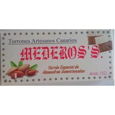 Mederos's - Turron Especial Almendras Seleccionadas Nougatriegel mit Mandeln 290g hergestellt auf Gran Canaria - LAGERWARE