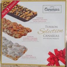 Taste Canarias -  Turron Seleccion Canarias 240g hergestellt auf Gran Canaria - LAGERWARE