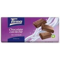 Tirma - Chocolate con Leche Vollmilchschokolade 75g Tafel hergestellt auf Gran Canaria