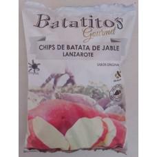 Batatito's - Gourmet Chips de Batata de Jable Lanzarote sin gluten Kartoffelchips 100g Tüte hergestellt auf Lanzarote