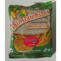 Bimbachitos de Canarias - Picante Spicy Bananenchips pikant 90g hergestellt auf El Hierro - LAGERWARE - MHD: 07.01.2021