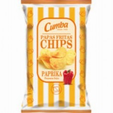 Cumba - Chips Papas Fritas Paprika Pimenton Dulce 37g hergestellt auf Gran Canaria