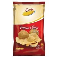 Cumba - Chips 100% Papas de Pais con sal Kartoffelchips gesalzen 120g hergestellt auf Gran Canaria