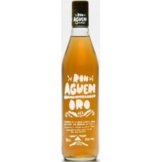 Aguere - Ron Oro brauner Rum 37,5% 700ml hergestellt auf Teneriffa - LAGERWARE