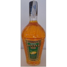 Arehucas - Banana Canafruit Liquer Bananenlikör 20% Vol. 700ml hergestellt auf Gran Canaria - LAGERWARE