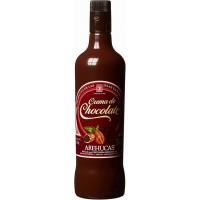 Arehucas - Licor Crema de Chocolate Schokolikör 17% Vol. 700ml hergestellt auf Gran Canaria