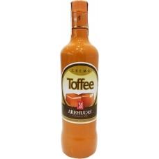 Arehucas - Licor Crema Toffee Toffee-Likör 17% Vol. 700ml hergestellt auf Gran Canaria - LAGERWARE