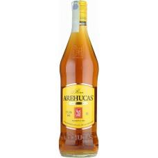 Arehucas - Ron Carta Oro brauner Rum 1l 37,5% Vol. hergestellt auf Gran Canaria - LAGERWARE