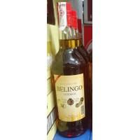 Ron Belingo - Superior Ron Dorado brauner Rum 37,5% Vol. 1l Glasflasche hergestellt auf Gran Canaria