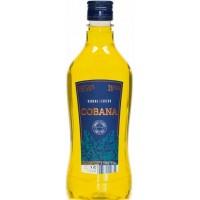 Cobana - Liqueur Banana Licor de Platano Banananlikör 30% 500ml PET-Flasche hergestellt auf Teneriffa
