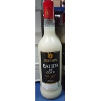 Fulton's - Batida de Coco Liqueur Kokos-Cremelikör 17% Vol. 1l Glasflasche hergestellt auf Gran Canaria