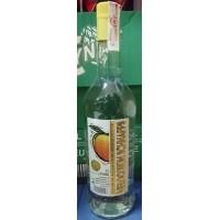 Majestic - Melocoton Schnapps Licor de Melocoton Pfirsichlikör 17% Vol. 1l Glasflasche hergestellt auf Gran Canaria