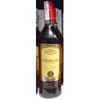 Pedro III El Grande Brandy Weinbrand 1l Glasflasche hergestellt auf Gran Canaria