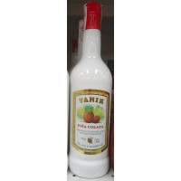 Vanik - Pina Colada Likör 17% Vol. 1l Glasflasche hergestellt auf Gran Canaria