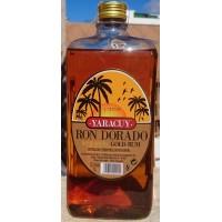 Yaracuy - Ron Dorado goldener Rum 37,5% Vol. 1l PET-Flasche hergestellt auf Gran Canaria