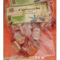 Valsabor - Maguey Caramelo de Miel y Eucalipto Honig-Eukalyptus-Bonbons 10 Stück hergestellt auf Gran Canaria